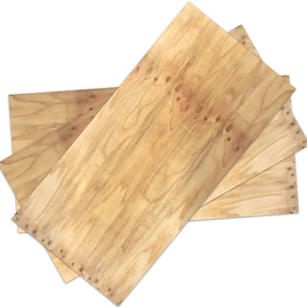 Pine non structural c d ply uptons group construction for Plywood sheathing thickness