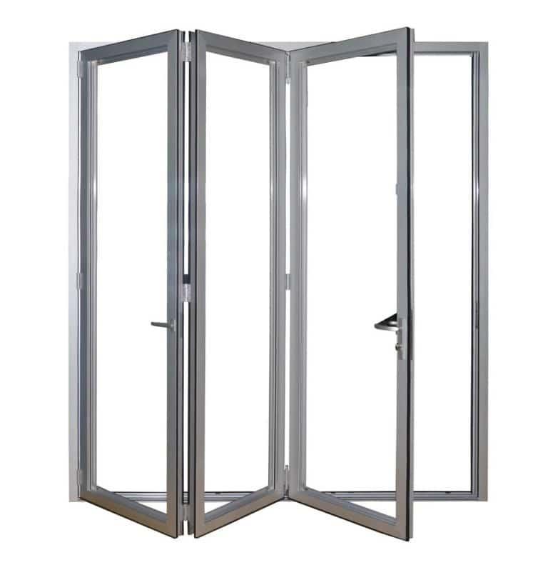 Bi-fold aluminium door