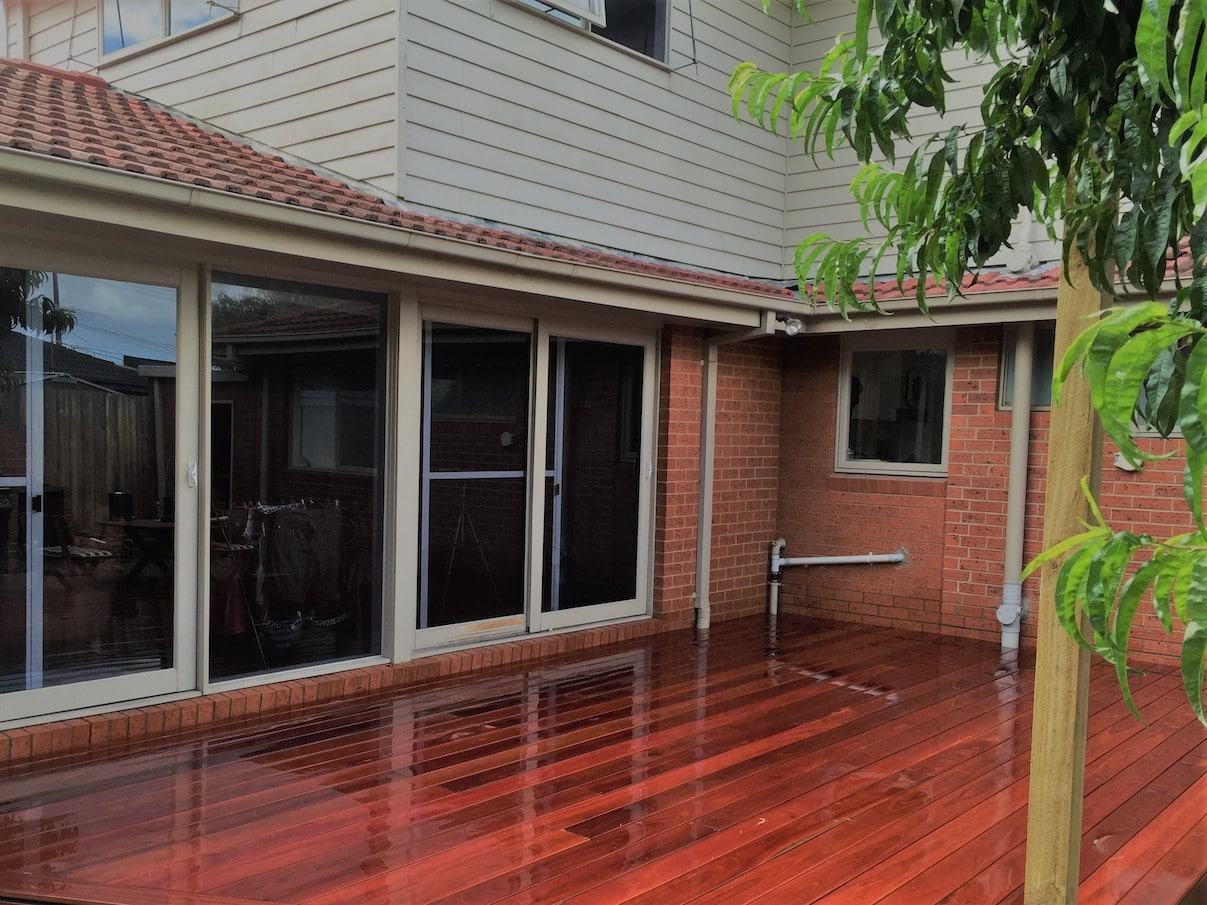Forest Red Decking Uptons Group Construction Supplies