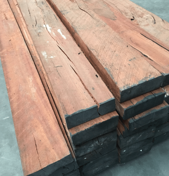 Hardwood Sleepers Uptons Group Construction Supplies