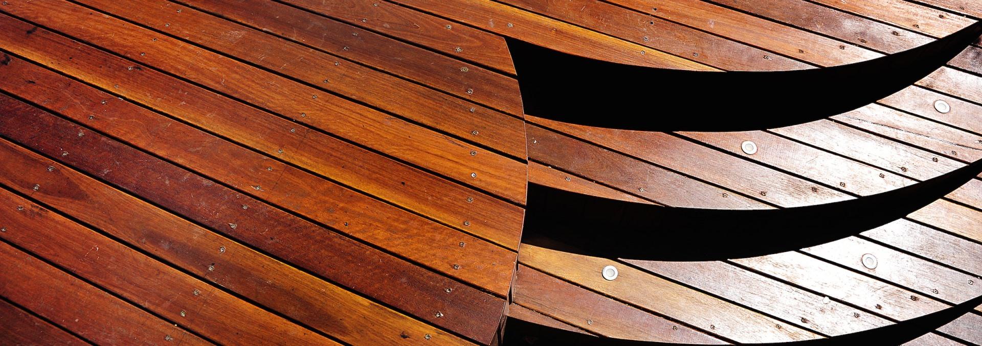 Decking Timbers Australia