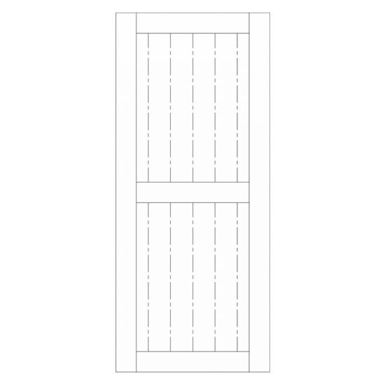 Horizontal-rail-barn-door