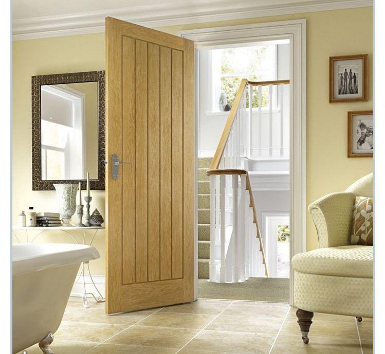 American Oak Quot Mexicano Quot Internal Timber Door Uptons
