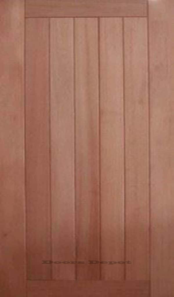 Meranti 5 Panel External Timber Door Uptons Group